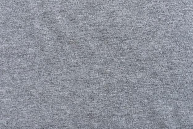 Tissu de toile de fond de texture de toile de fond textile. grise