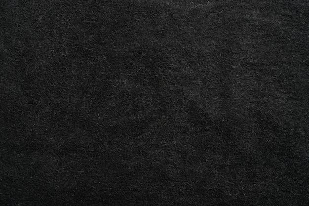 Tissu de toile de fond de texture de toile de fond textile. noir foncé.