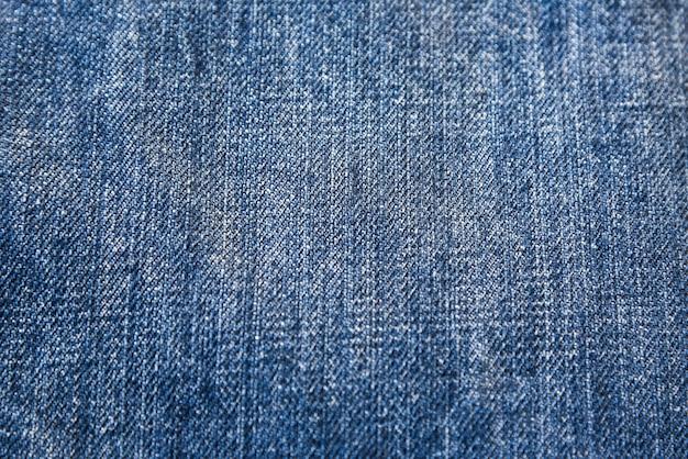 Tissu utilisé de la texture blue jeans pour le fond