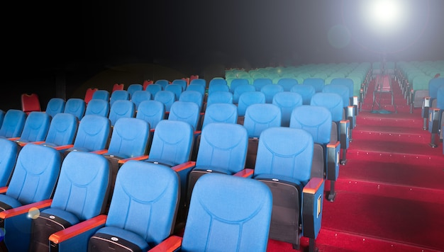 Tissu velours tissu vide colonne de nombreuses sièges