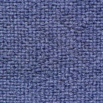 Tissu de vêtement de couleur bleue fibreuse