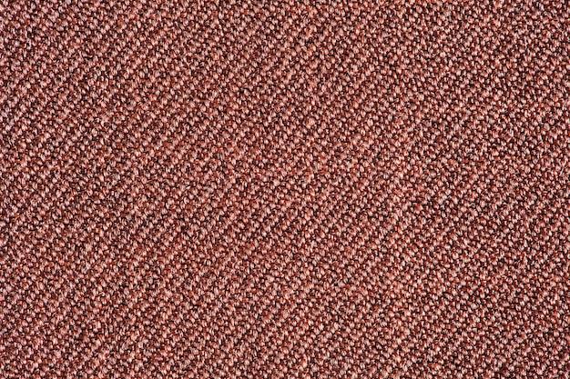 Tissu violet synthétique, structure d'arrière-plan, vue macro en gros plan