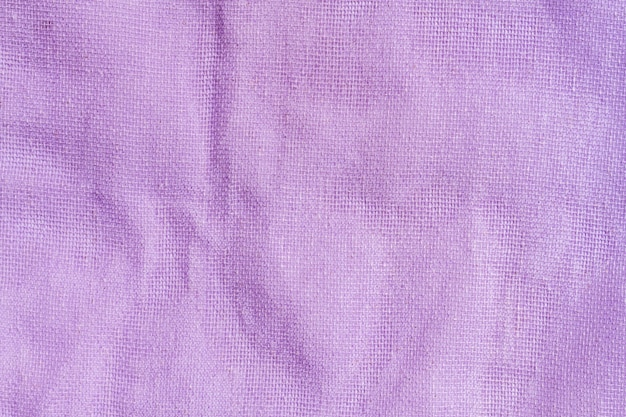 Tissu violet texture close-up de costume