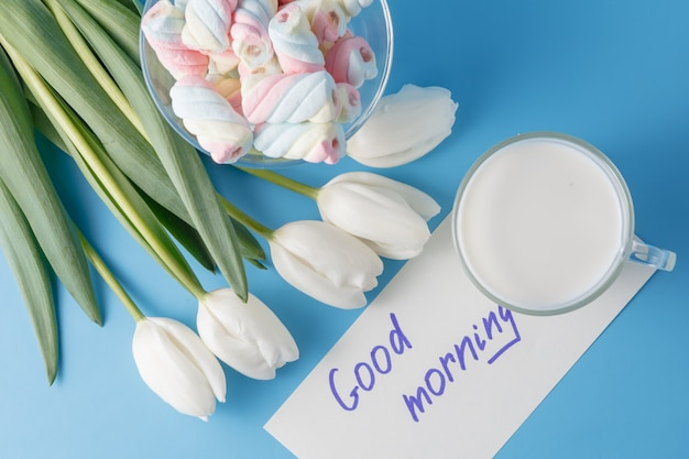 Tlips et bon massage du matin
