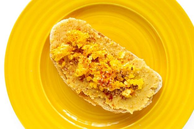 Toast avec garniture