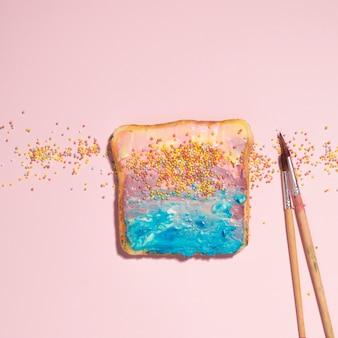 Toast peint