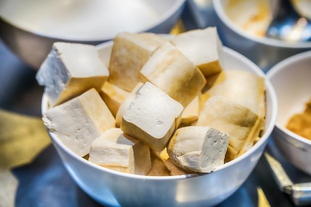 Tofu de soja cru bio