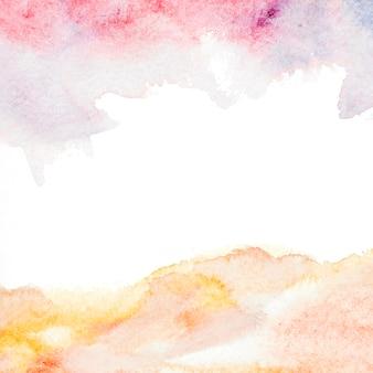 Toile de fond aquarelle coloré splash