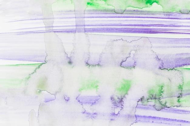 Toile de fond aquarelle violet et vert