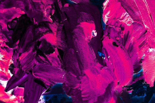 Toile de fond artistique de texture peinte et concept de peinture moderne abstrait coups de peinture acrylique art pinceau fond plat