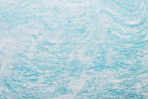 Toile de fond bleue peinte à la main