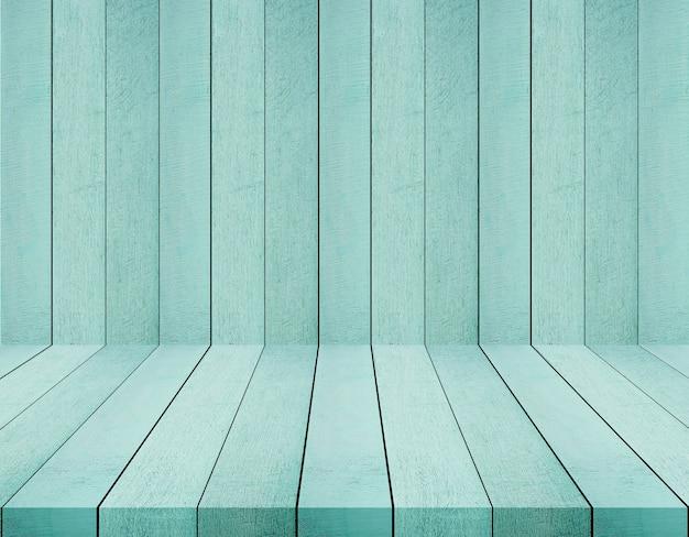 Toile de fond en bois vert pour utilisé pour le produit d'affichage