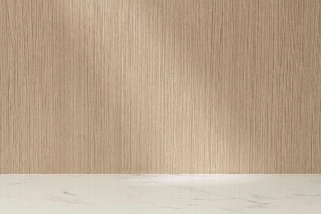 Toile de fond de produit en bois, affichage de vitrine