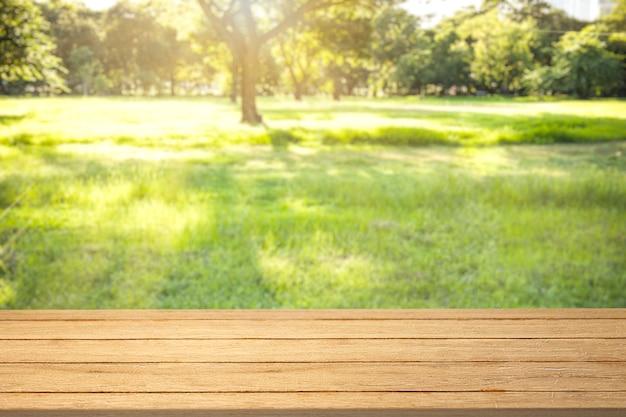Toile de fond de produit de nature, arrière-cour verte