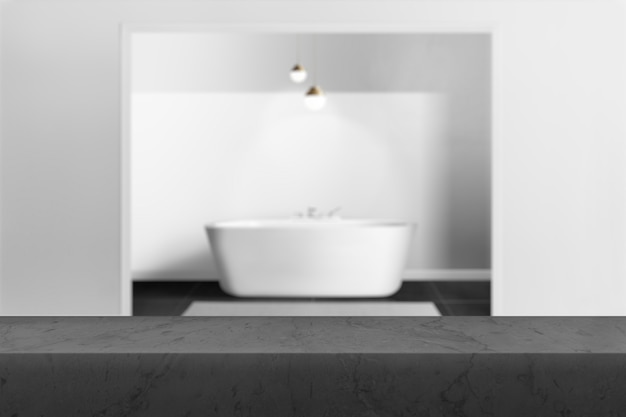 Toile de fond de produit de salle de bain, image de fond intérieure
