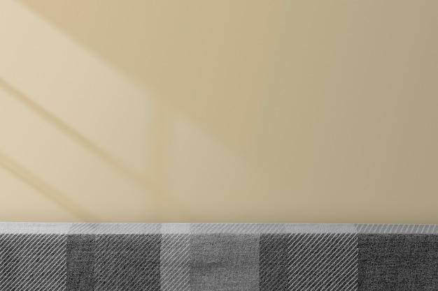 Toile de fond de produit de table avec espace design