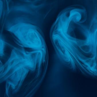 Toile de fond de texture marbre abstrait bleu