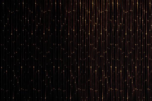 Toile de fond texturé rideau à motifs de bambou