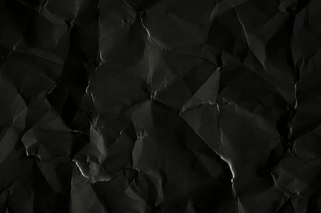 Toile de fond texturée en papier froissé