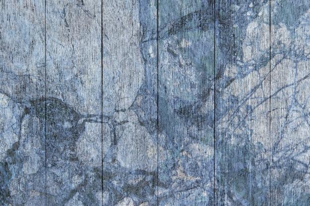 Toile de fond texturée de plancher en bois bleu
