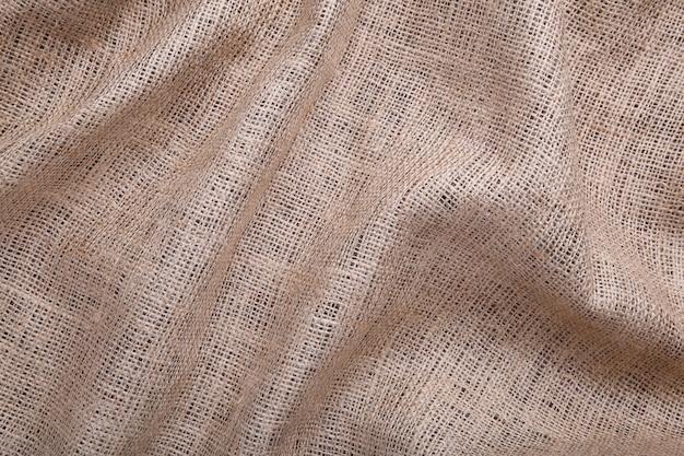 Toile de texture comme, gros plan d'un sac