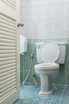 Toilette à chasse domestique