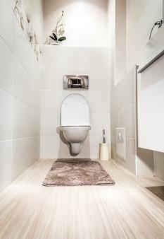 Toilette moderne