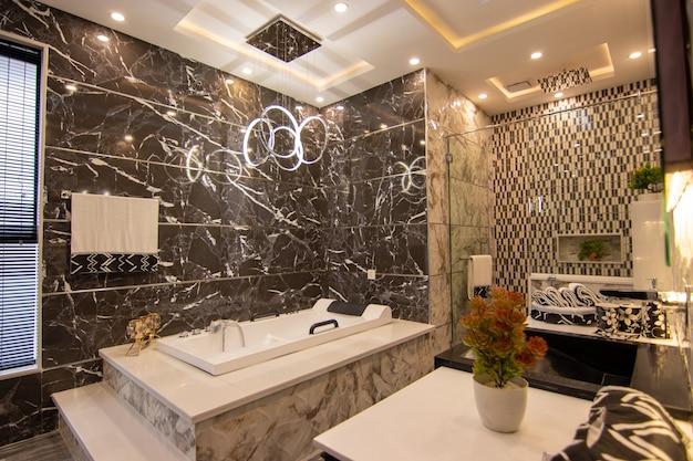 Toilettes au design moderne