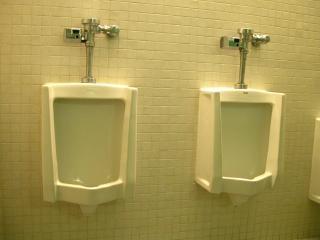 Toilettes, de la pisse