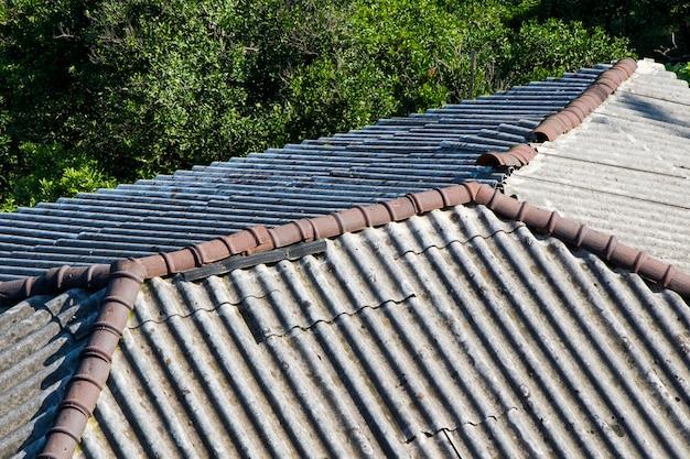 Toit en céramique, vue sur le toit