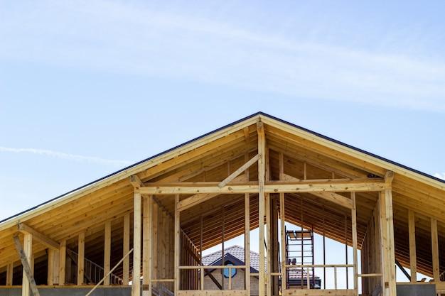 Le toit de la maison