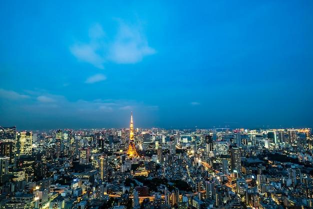 Tokyo tower japon tour de communication et d'observation