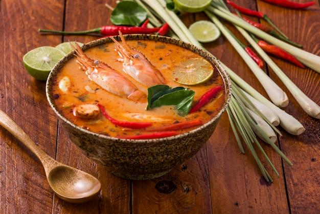 Tom yum goong, cuisine traditionnelle thaïlandaise