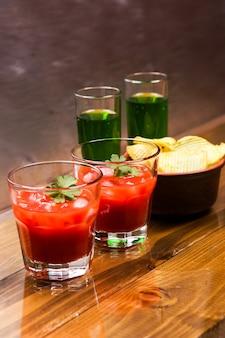 Tomate alcoolique