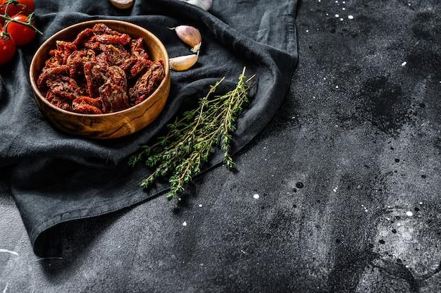 Tomates séchées à l'ail, épices et fines herbes