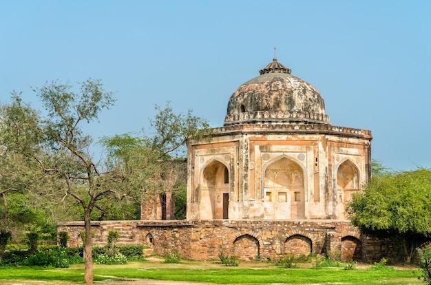 Tombe de mohd quli khan à delhi, la capitale de l'inde