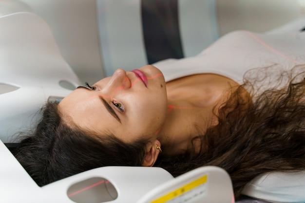 Tomodensitométrie pour le diagnostic