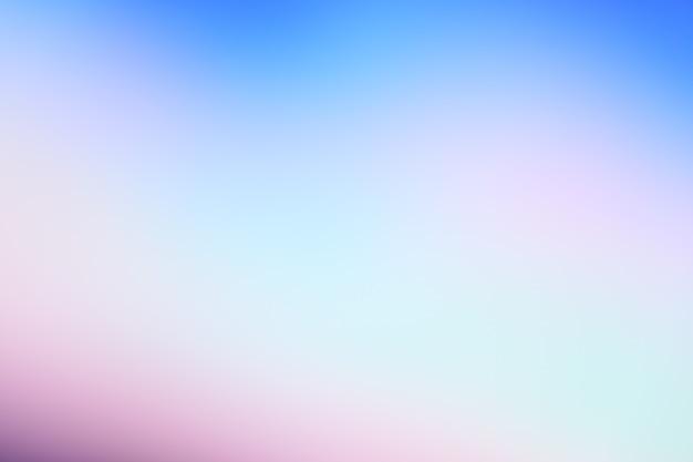 Ton pastel violet rose bleu dégradé photo abstraite défocalisé lignes lisses fond de couleur pantone