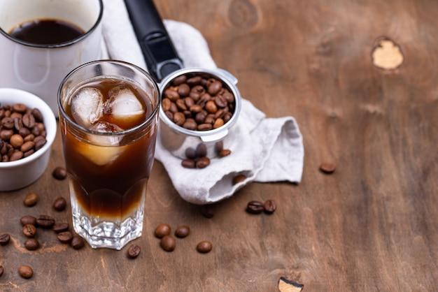 Tonique expresso, boisson au café tendance