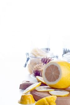 Tonique miel, citron et gingembre