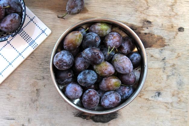 Top prunes fraîches