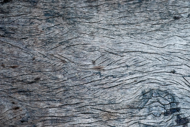 Top viwe de la texture du bois vieux, bois foncé naturel pour le fond.