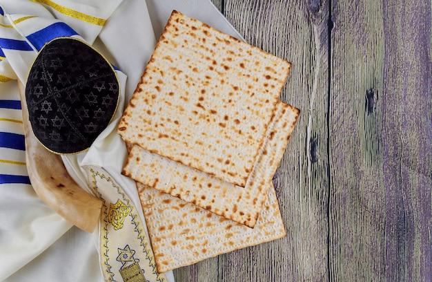 Torah de pain de pâque de matzoh de fête juive
