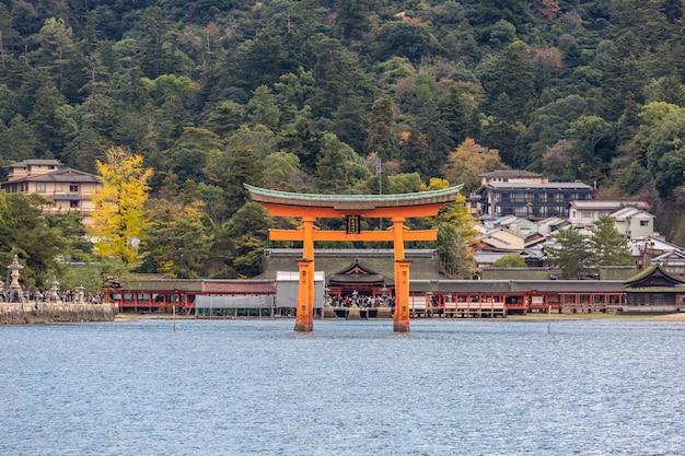 Torii flottant miyajima hiroshima
