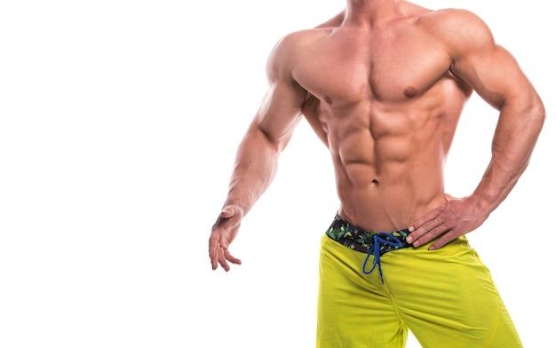 Torse masculin musclé