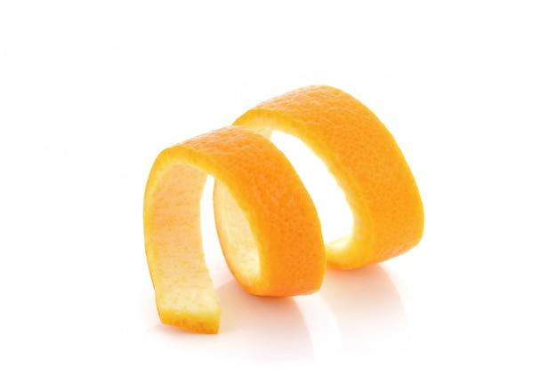 Torsion d'orange fraîche
