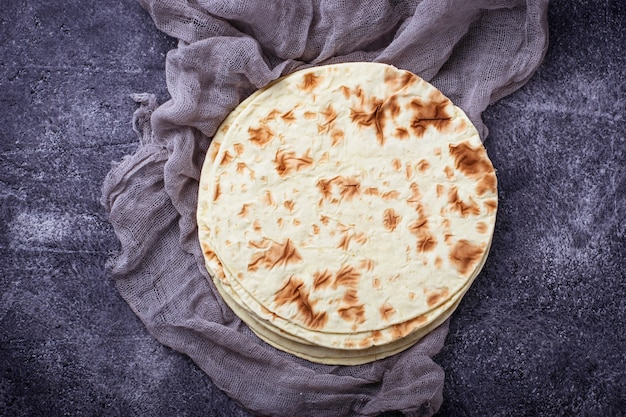 Tortillas de maïs mexicaines