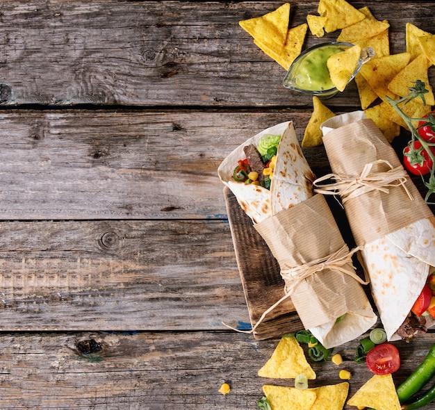 Tortillas et nachos