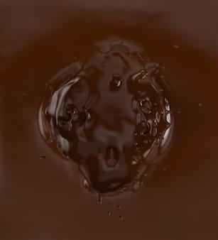 Une touche de chocolat.