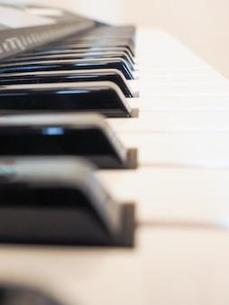 Touches du clavier musical
